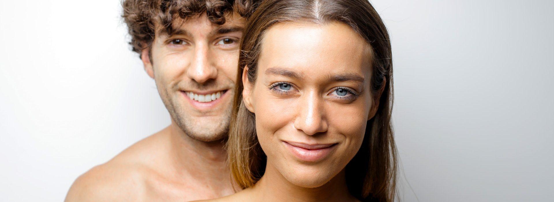 Ein Paarfoto eines jungen Paares